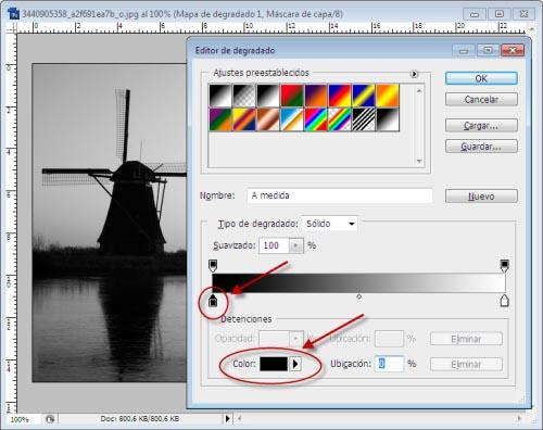 Atardeceres y Amaneceres en Photoshop - Paso 2