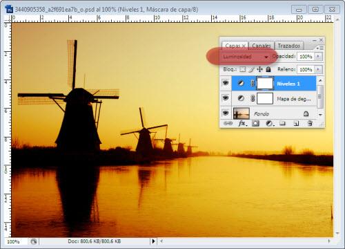 Atardeceres y Amaneceres en Photoshop - Paso 8