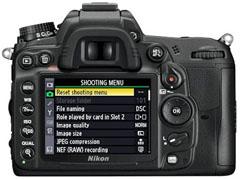 Nikon D7000 - Menú de Configuración