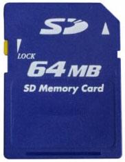 SD de 64 MB