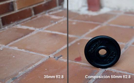 Método Brenizer - Comparación