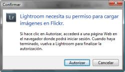 Integración con Flickr desde Lightroom 3 - Paso 3