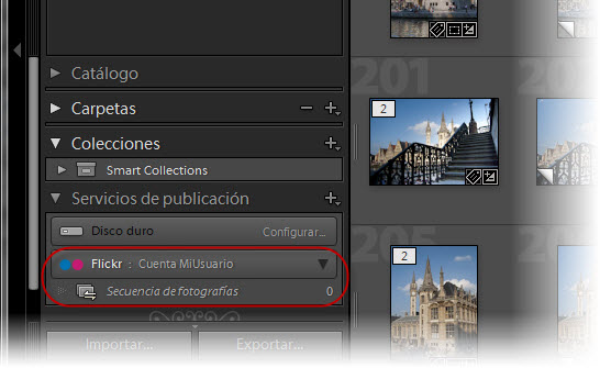 Integración con Flickr desde Lightroom 3 - Paso 5