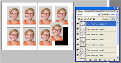 Fotos de Carnet en Photoshop