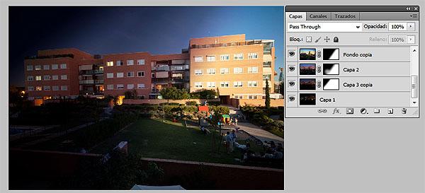 Día y Noche con Photoshop - 2
