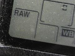 Ajuste del formato a RAW
