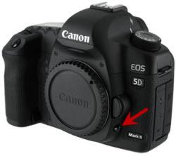 Botón Previsualización de Profundidad de Campo en Canon 5D