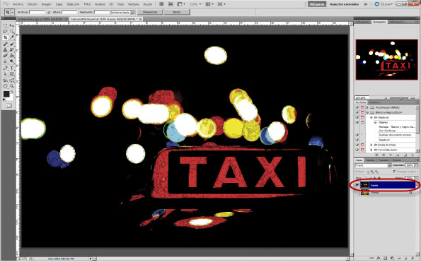 Identificación de luces
