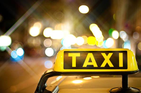 Taxi con Efecto Filtro Estrella