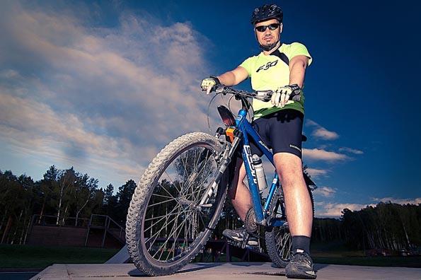Galería de Andrew Kudrin - Biking