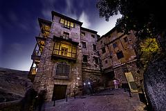 Casas Colgadas, Cuenca, Foto por la Noche