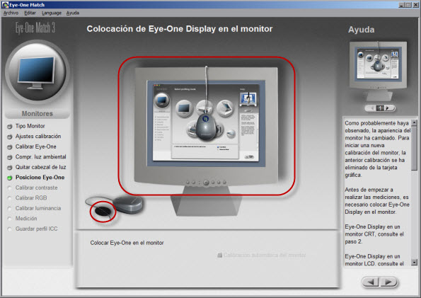calibrar monitores tft: