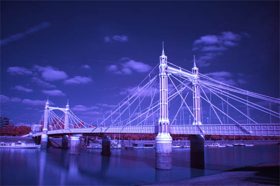 Albert Bridge Experiment in Infrared