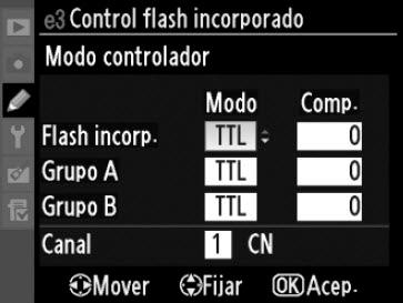 Modo controlador