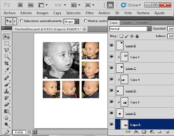 Plantilla Photoshop - Resultado