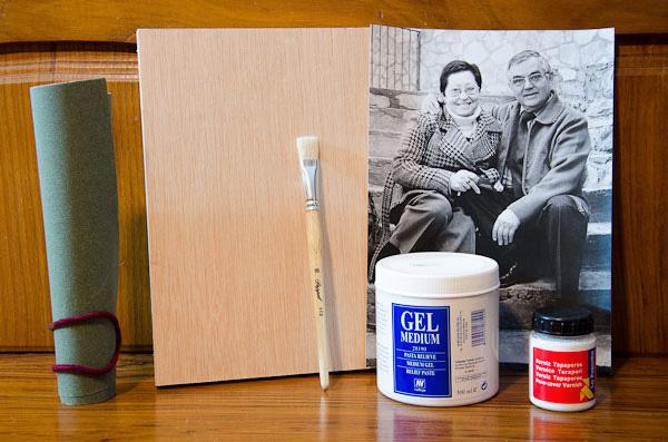 C mo realizar impresiones en madera y lograr un resultado - Transferir foto a madera ...