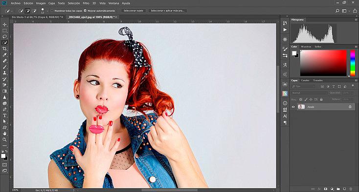 Desaturación Selectiva O Cutout En Photoshop