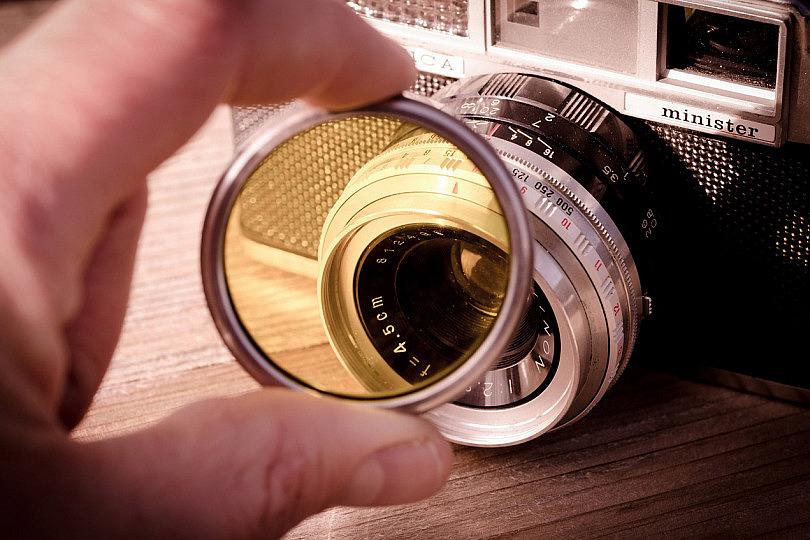 Hama historial-filtro rojo 52mm efecto Filtro de filtros de color para DSLR dslm cámara de fotos