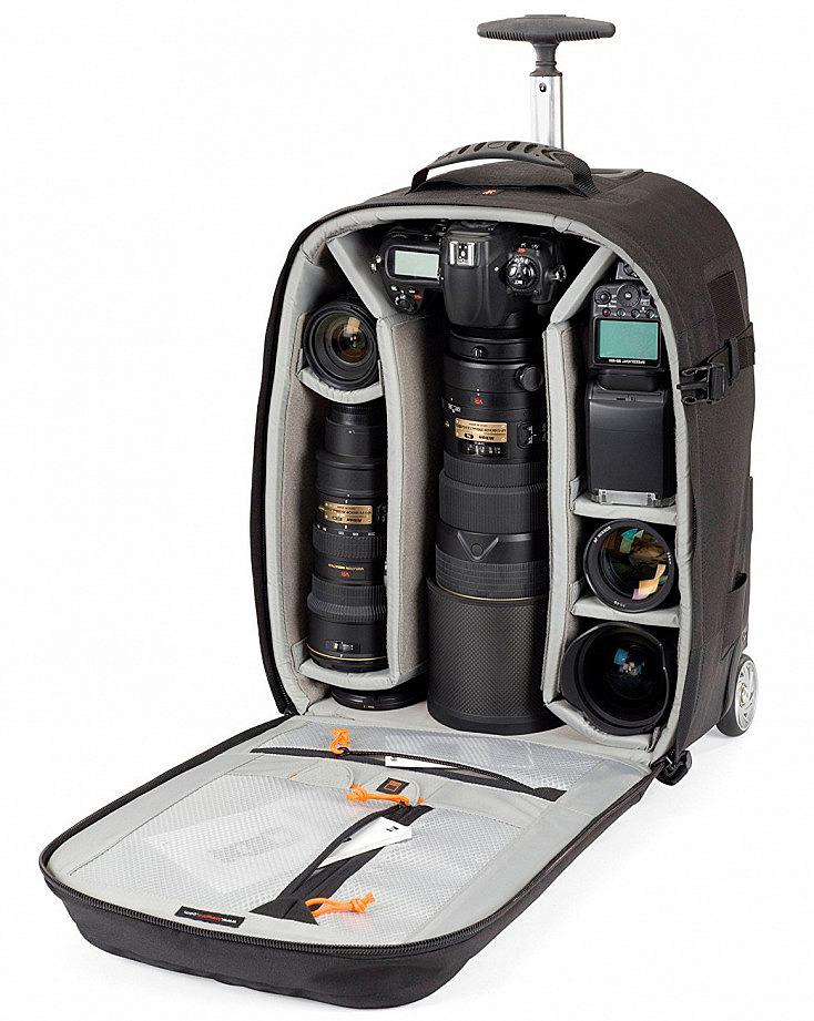 mochila fotográfica