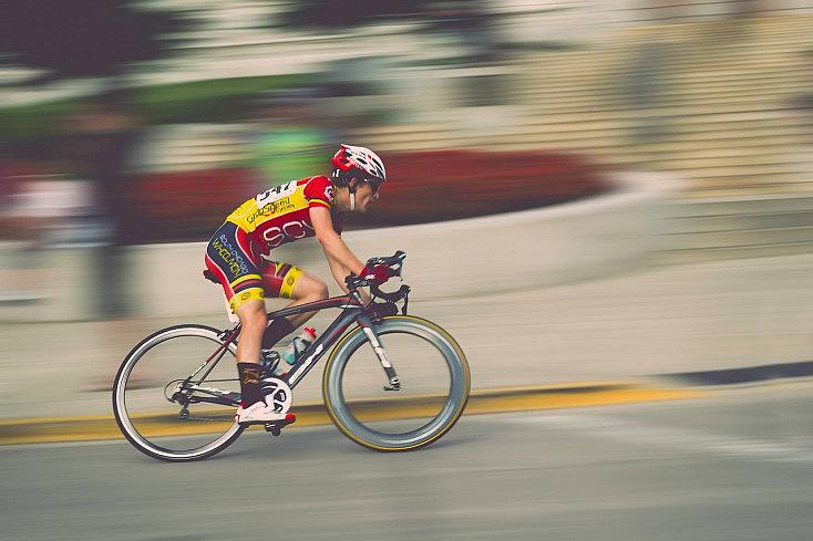 Zooming Bike Graphic Design