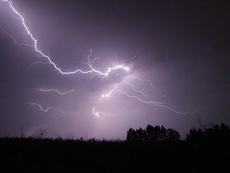 ejemplo de foto de tormenta