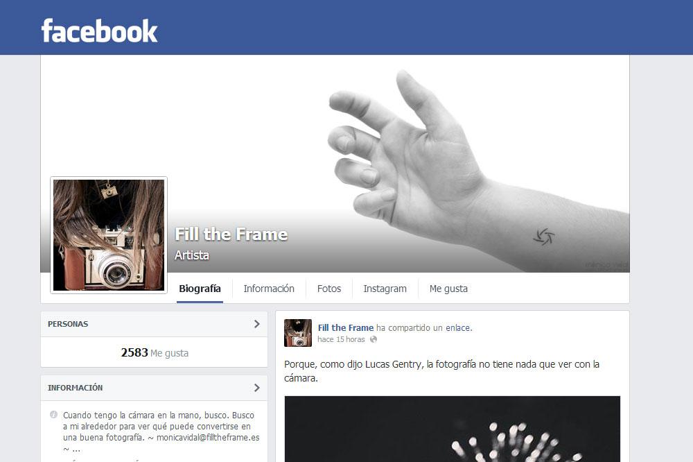 Cómo Conseguir una Página en Facebook Exitosa para Promocionar tus Fotos y No Morir en el Intento