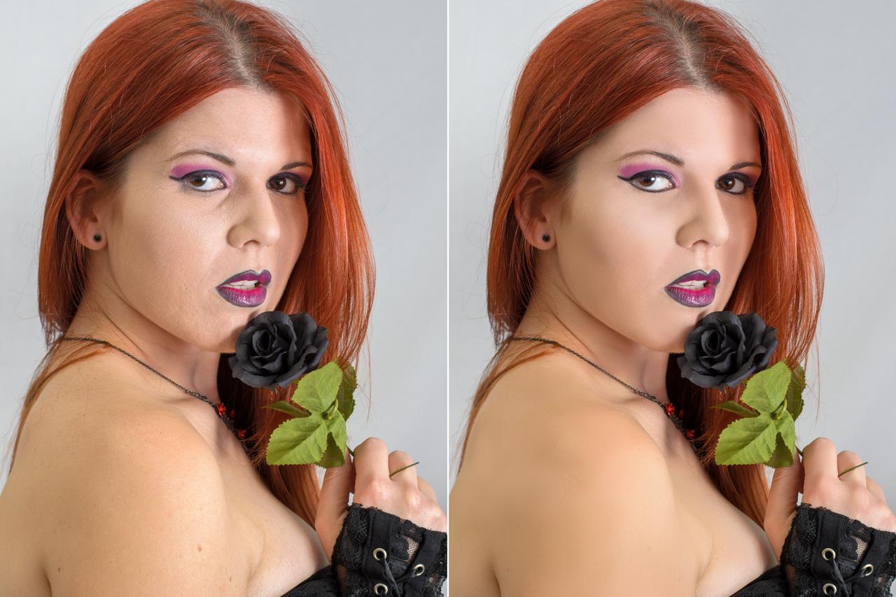 Cómo Mejorar la Piel con la Separación de Frecuencias en Photoshop