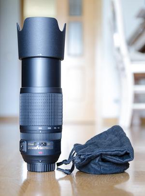 Nikon 70-300VR Extendido