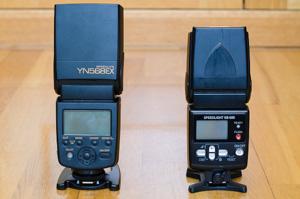 Yongnuo YN568EX vs Nikon SB-600