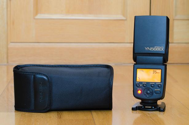Yongnuo YN568EX - LCD y funda
