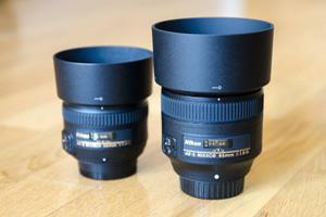 Nikon 85mm f/1.8G vs Nikon 50mm f/1.4G