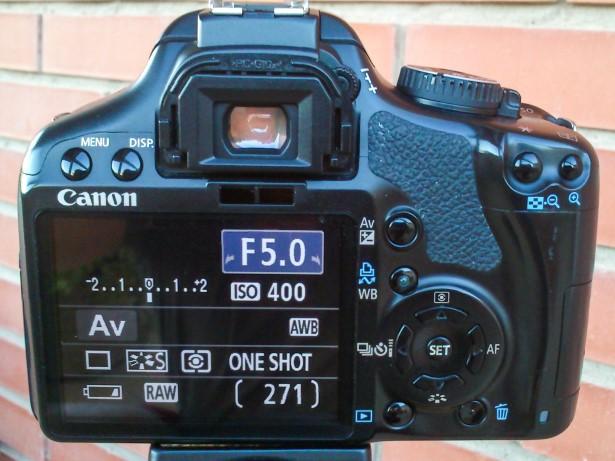 450D configuración (Custom)