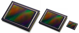 Sensores de distintos tamaños