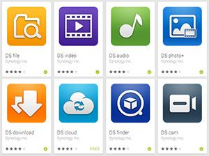 Aplicaciones Synology para Android