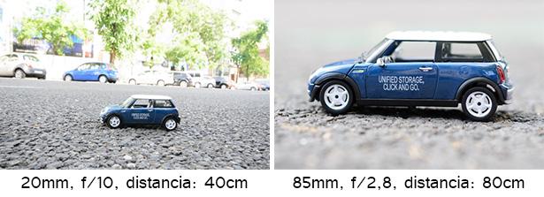 Comparando focales