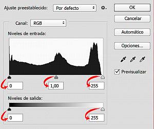 histograma en photoshop