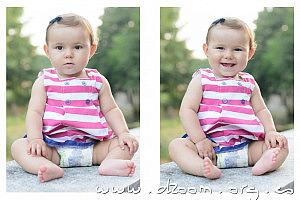 Una Idea Sencilla Para Tus Fotos de Bebés: ¿Qué Tal Una Serie Fotográfica?