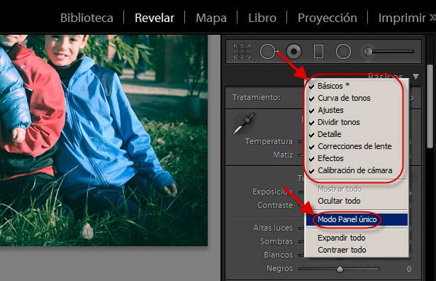 Eficiencia en Lightroom - Consejo 1