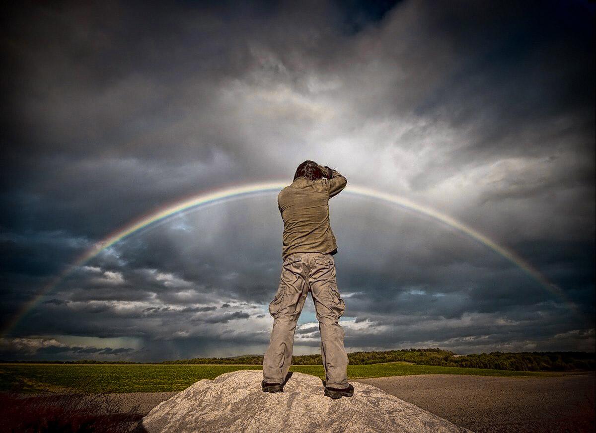 Cómo Fotografiar el Arco Iris: Sacándole Partido a los Fenómenos Meteorológicos