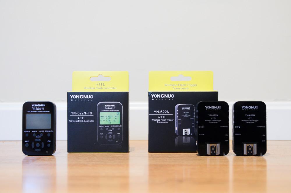 Descubriendo el controlador YN-622N-TX y los transceivers YN-622N