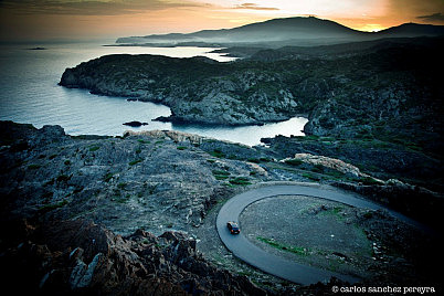 View of the natural area of Cap de Creus, Catalonia, Spain