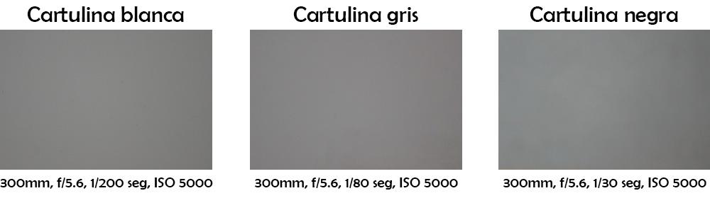 Fotografías a cartulinas