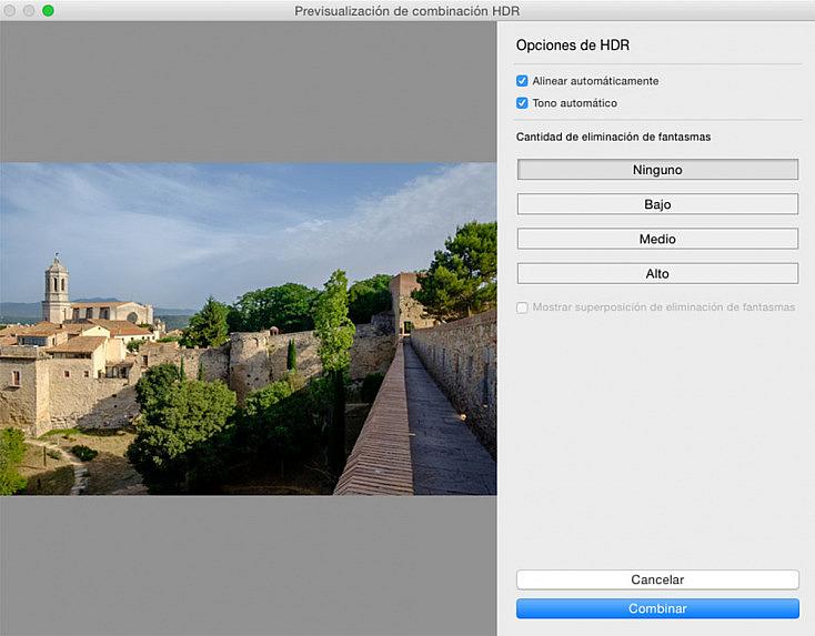 Cómo hacer una panorámica HDR con Lightroom CC