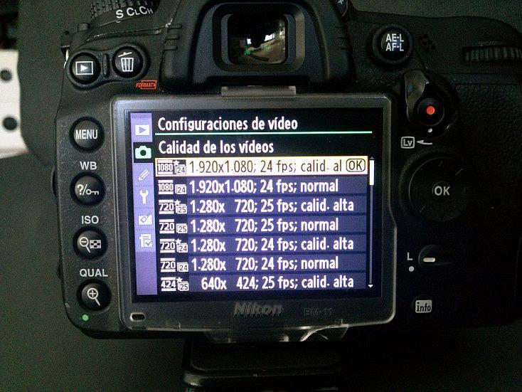 Dependiendo de las prestaciones de vuestra cámara, los fps pueden pasar por los 24, 25, 30 y hasta 60 fps, consiguiendo mayor número de imágenes por segundo, una naturalidad espectacular.