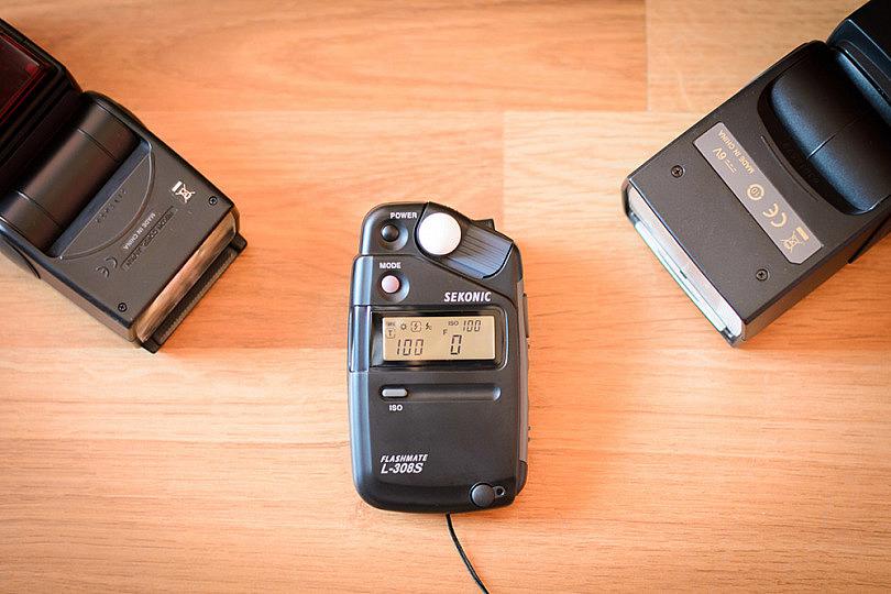 Fotómetro de Mano: Sekonic L308S - mini