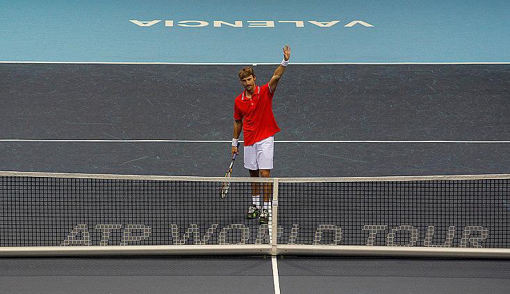 Último partido de Juan Carlos Ferrero como tenista profesional