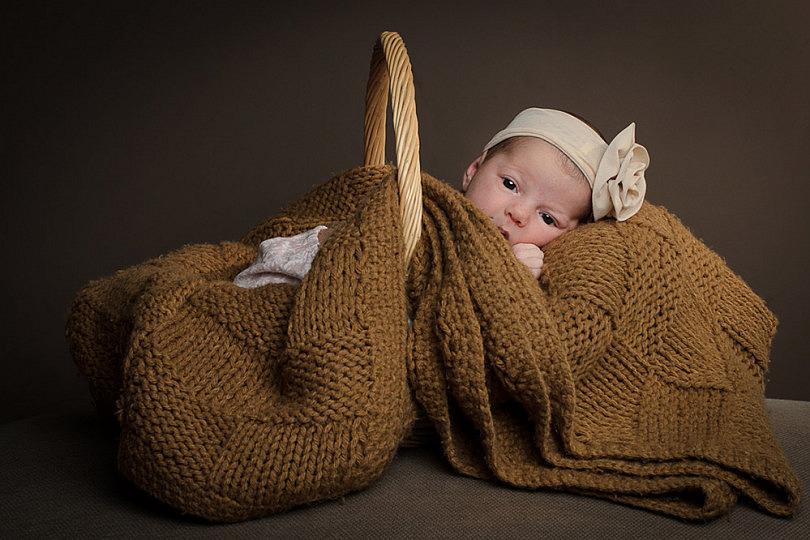 7 consejos y 2 ideas para fotografías de recién nacidos  - mini