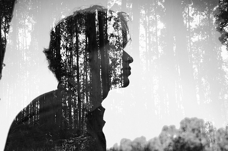Double exposure - Rubén Chase