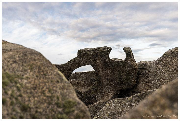 Es importante documentar el entorno, flora, fauna geología... en este caso, las rocas zoomórficas que se encuentran por la zona son muy llamativas. No se trata de fotografiarlas todas, tan solo de recordar la peculiaridad del lugar.