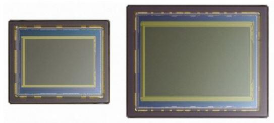 Sensor APS-C y sensor Full Frame